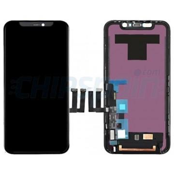 Ecrã LCD + Touch iPhone 11 Completo Premium Preto com Marco