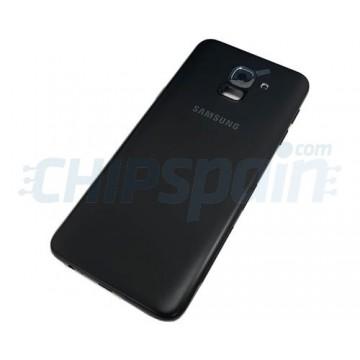 Capa Traseira Bateria Samsung Galaxy J6 2018 J600 com Lente Preto
