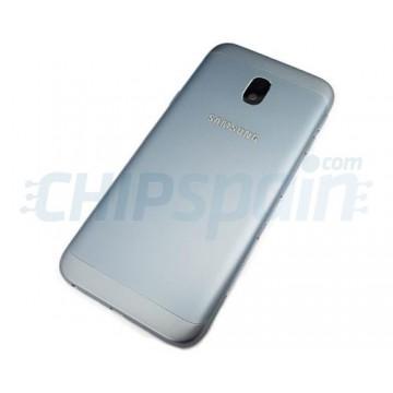 Tapa Trasera Batería Samsung Galaxy J3 2017 J330 con Lente Azul