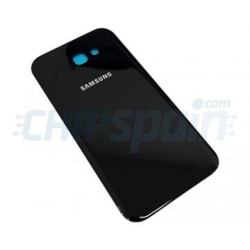 Tapa Trasera Batería Samsung Galaxy A7 2017 A720 Negro