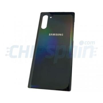 Tapa Trasera Batería Samsung Galaxy Note 10 N970 Plata