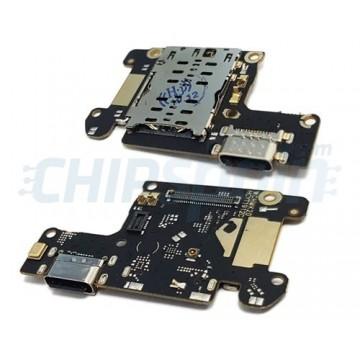 Connector Flex Carregamento e Microfone Xiaomi Mi 9T / Mi 9T Pro / Redmi K20 / Redmi K20 Pro