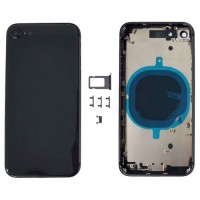 Rear casing Complete iPhone 8 Black
