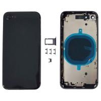 Tampa traseira completa iPhone 8 Preto
