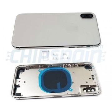 Carcasa Trasera Completa iPhone X Blanco