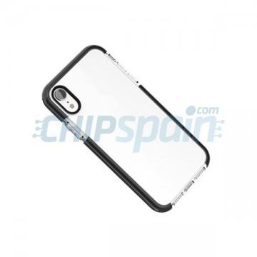 TPU Case iPhone X / iPhone XS Transparent Black