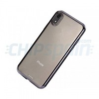TPU Case iPhone XR Transparent UltraThin Black