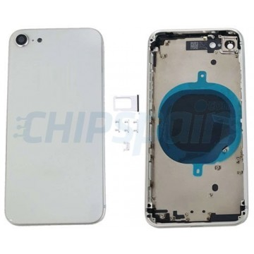 Rear casing Complete iPhone 8 White