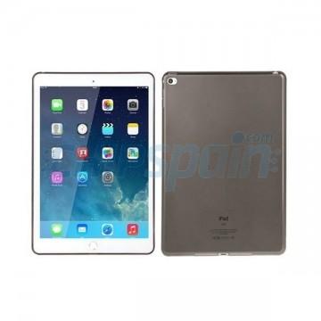 Capa iPad Air 2 Silicone Preto Transparente