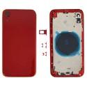 Tampa Traseira Completa iPhone XR A2105 Vermelho