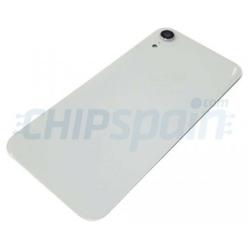 iPhone XR A2105 Battery Back Cover White with Lens