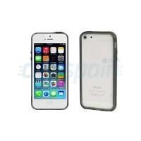Protector Bumper Basic iPhone 5 iPhone 5S iPhone SE Preto Translúcido