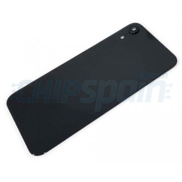 iPhone XR A2105 Battery Back Cover Black with Lens