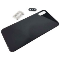 iPhone XS A2097 Battery Back Cover Black with Support and lens