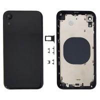 Tampa Traseira Completa iPhone XR A2105 Preto