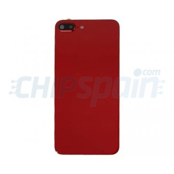 iPhone 8 Plus Battery Back Cover with Lens Red