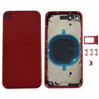 Rear casing Complete iPhone 8 Red
