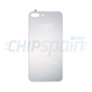 Cristal Trasero iPhone 8 Plus Batería Plata