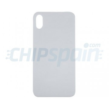 Vidro traseiro iPhone X Bateria Branco