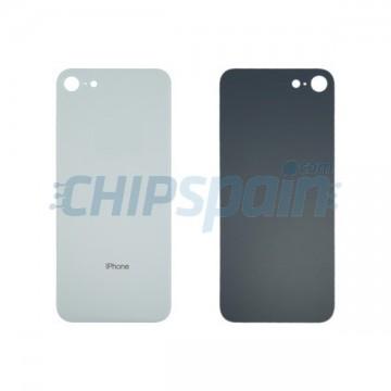 Cristal Trasero iPhone 8 Batería Blanco