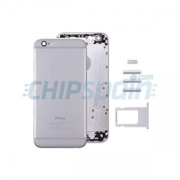 Carcasa Trasera Completa iPhone 6S Plus Gris Espacial