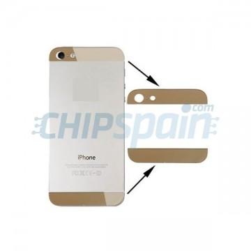 Alto e Baixo Cristal iPhone 5 -Ouro