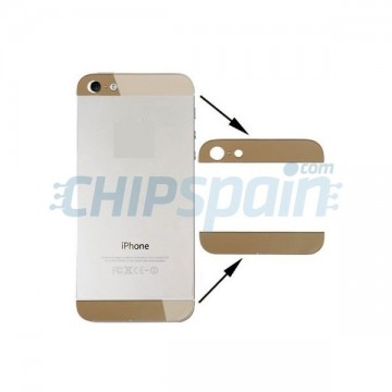 Upper and Lower Crystal iPhone 5 -Gold