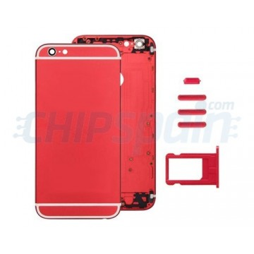 Tampa traseira completa iPhone 6 Plus Vermelho