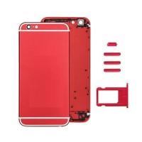 Carcasa Trasera Completa iPhone 6S Rojo