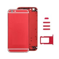 Rear Casing Complete iPhone 6S Red