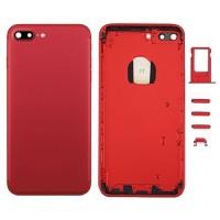 Tampa Traseira Completa iPhone 7 Plus Vermelho