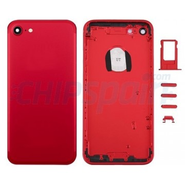 Rear Casing Complete iPhone 7 Red