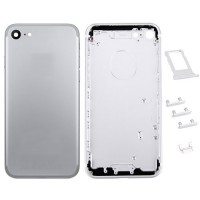 Rear Casing Complete iPhone 7 Silver