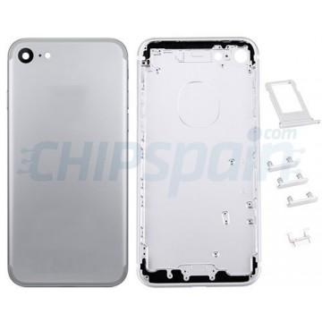 Carcasa Trasera Completa iPhone 7 Plata