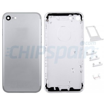 Tampa Traseira Completa iPhone 7 Prata