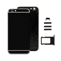Rear Casing Complete iPhone 6 Black