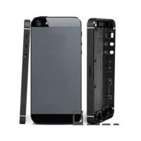 Tampa Traseira Completa iPhone 5 Cinza Preto