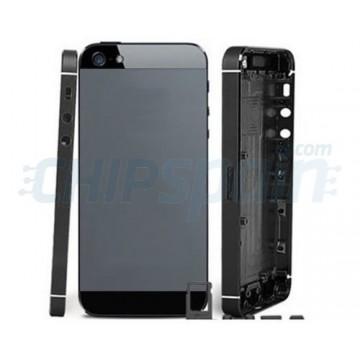Carcasa Trasera Completa iPhone 5 Gris Negro