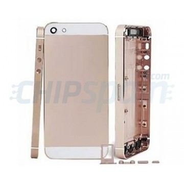 Rear Casing Complete iPhone 5 Champagne White
