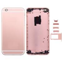Tampa Traseira Completa iPhone 6S Plus Ouro Rosa