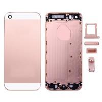Tampa Traseira Completa iPhone SE Ouro Rosa