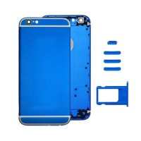Rear Casing Complete iPhone 6 Blue