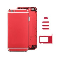 Tampa traseira completa iPhone 6 -Vermelho