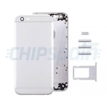 Carcasa Trasera Completa iPhone 6 - Plata