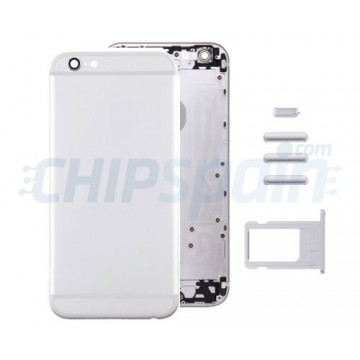 Rear casing Complete iPhone 6 -Silver