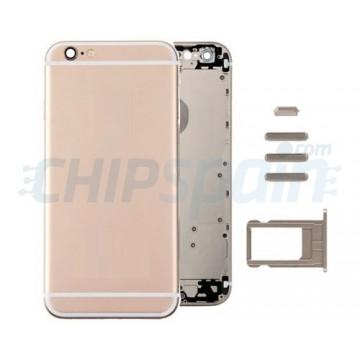 Tampa traseira completa iPhone 6 -Ouro