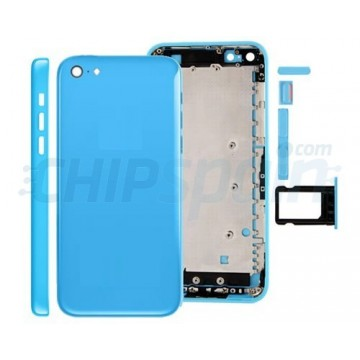 Carcasa Trasera Completa iPhone 5C Azul