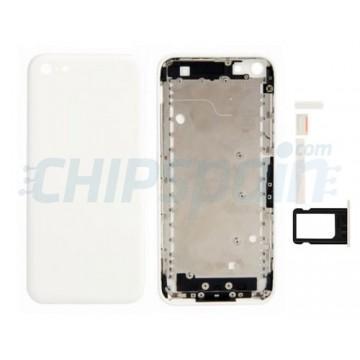 Tampa traseira completa iPhone 5C -Branco