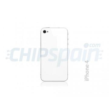 Cristal y Marco Trasero iPhone 4 -Blanco