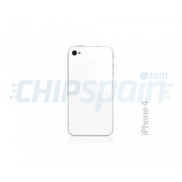 Crystal Back Cover iPhone 4 -White